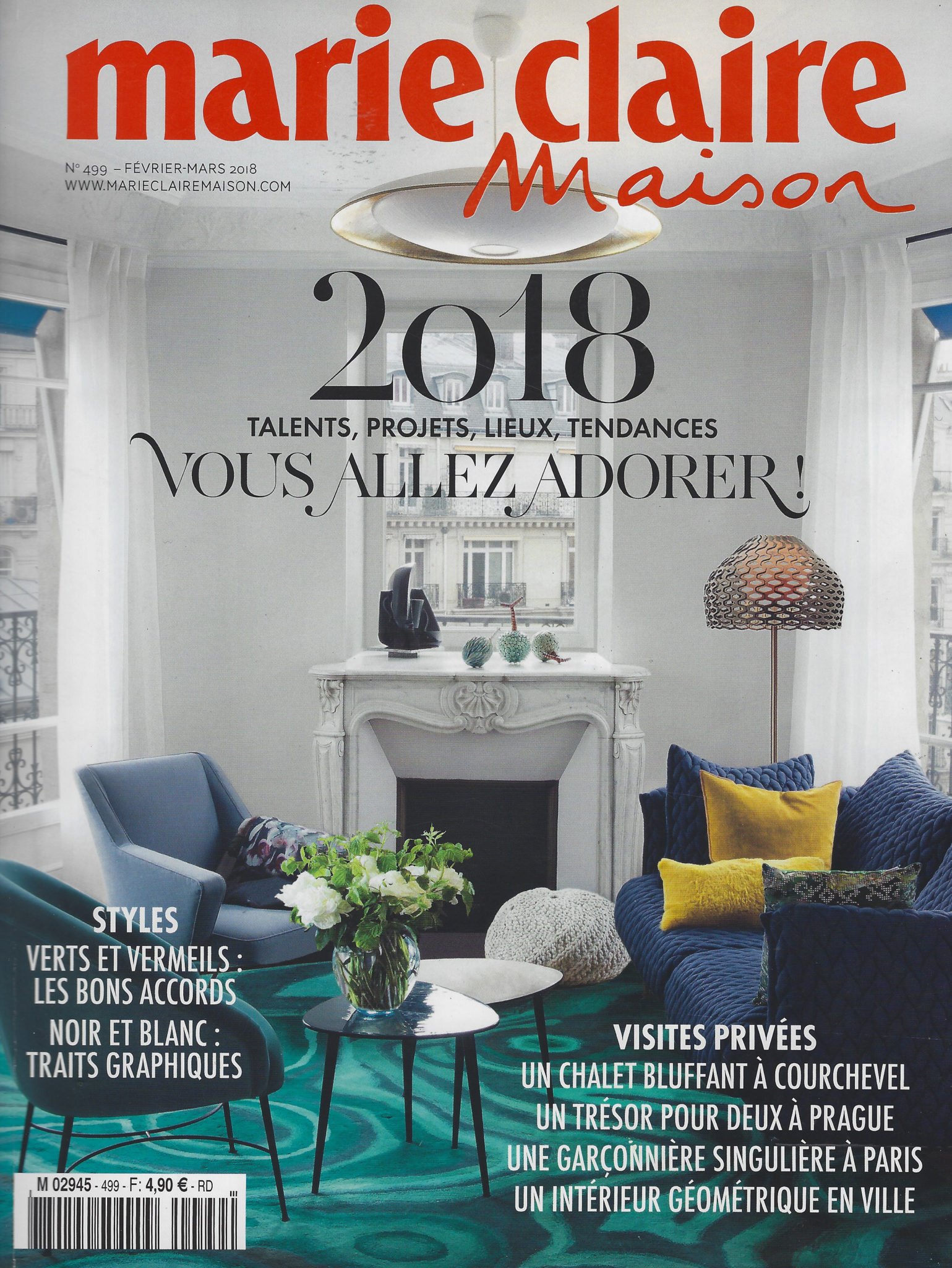 Marie Claire Fev 2018 COUV